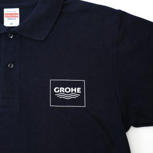オリジナルプリント ポロシャツ胸